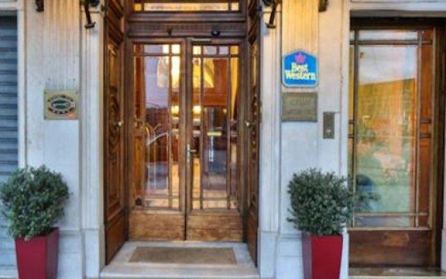 Best Western Hotel Moderno Verdi вид на фасад