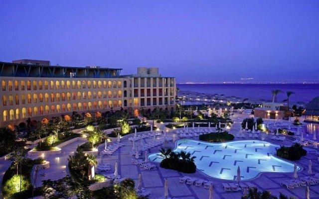 Отель Intercontinental Taba Heights Resort вид на фасад