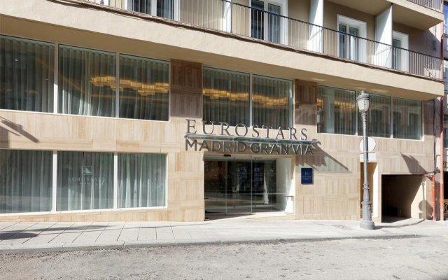 Отель Exe Hotel El Coloso Испания, Мадрид - 2 отзыва об отеле, цены и фото номеров - забронировать отель Exe Hotel El Coloso онлайн вид на фасад