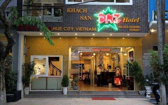 Отель DMZ Hotel Вьетнам, Хюэ - отзывы, цены и фото номеров - забронировать отель DMZ Hotel онлайн вид на фасад