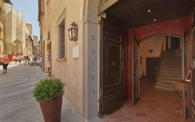 Отель LAntico Pozzo Италия, Сан-Джиминьяно - отзывы, цены и фото номеров - забронировать отель LAntico Pozzo онлайн вид на фасад