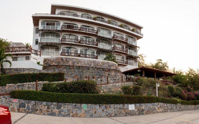 Отель Villas El Morro Сиуатанехо вид на фасад