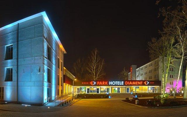 Park Hotel Diament Zabrze/Gliwice вид на фасад