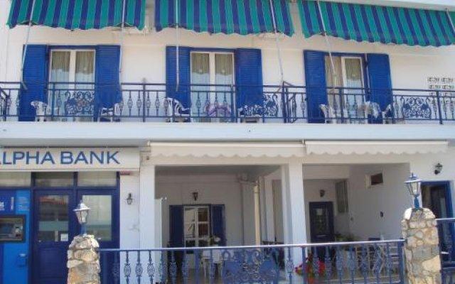 Отель Galaxias Studios Греция, Агистри - отзывы, цены и фото номеров - забронировать отель Galaxias Studios онлайн вид на фасад