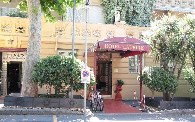 Hotel Laurens Генуя вид на фасад