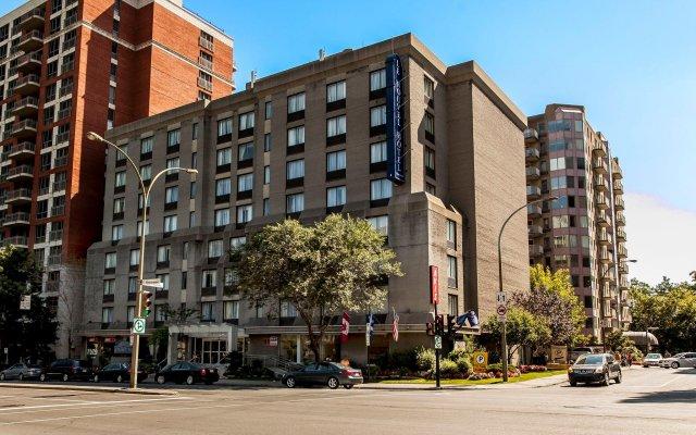 Отель Le Nouvel Hotel & Spa Канада, Монреаль - 1 отзыв об отеле, цены и фото номеров - забронировать отель Le Nouvel Hotel & Spa онлайн вид на фасад