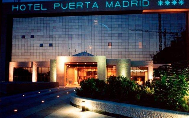 Hotel Silken Puerta Madrid вид на фасад