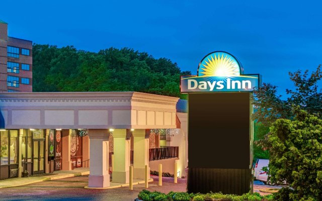 Отель Days Inn Towson вид на фасад