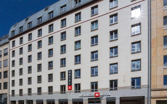 MEININGER Hotel Leipzig Hauptbahnhof вид на фасад