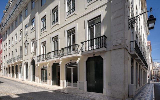 Отель Ouro Grand By Level Residences Лиссабон вид на фасад