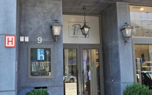 Progress Hotel вид на фасад