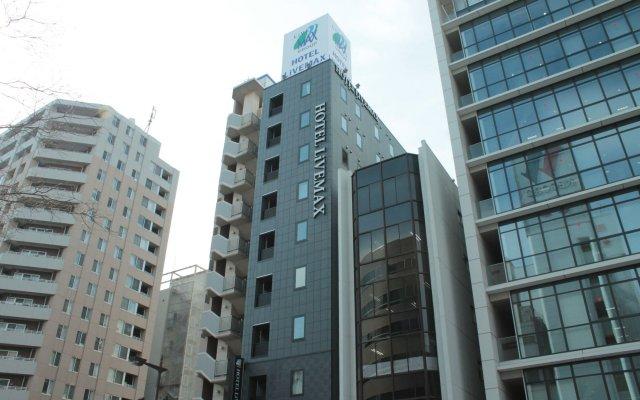 Hotel Livemax Tokyo Bakurocho Токио вид на фасад