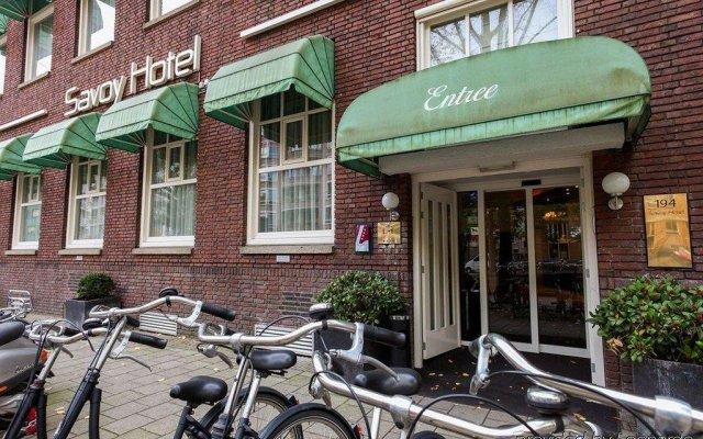 Savoy Hotel Amsterdam вид на фасад