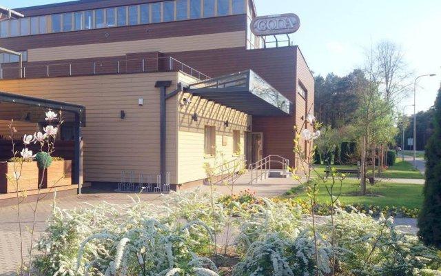 Отель GODA Литва, Друскининкай - отзывы, цены и фото номеров - забронировать отель GODA онлайн вид на фасад