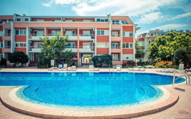 Отель Sunny Fort Болгария, Солнечный берег - отзывы, цены и фото номеров - забронировать отель Sunny Fort онлайн вид на фасад