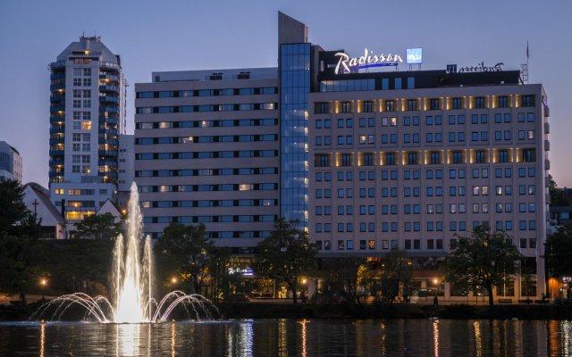 Отель Radisson Blu Atlantic Ставангер вид на фасад