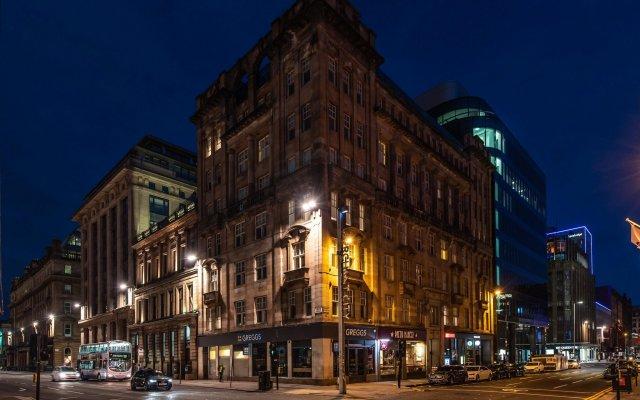 Отель PREMIER SUITES PLUS Glasgow George Square Великобритания, Глазго - отзывы, цены и фото номеров - забронировать отель PREMIER SUITES PLUS Glasgow George Square онлайн вид на фасад