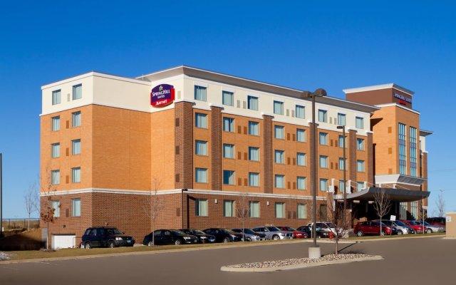 Отель Springhill Suites Minneapolis-St Paul Airpt/Mall Of America Блумингтон вид на фасад