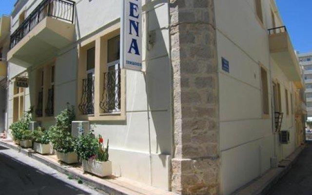 Lena Hotel вид на фасад