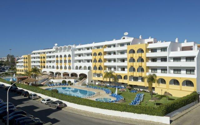 Отель Paladim & Alagoamar Португалия, Албуфейра - отзывы, цены и фото номеров - забронировать отель Paladim & Alagoamar онлайн вид на фасад