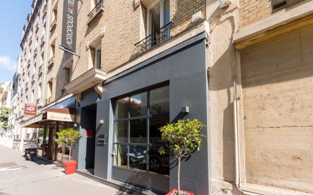 Отель Acropolis Hotel Paris Boulogne Франция, Булонь-Бийанкур - отзывы, цены и фото номеров - забронировать отель Acropolis Hotel Paris Boulogne онлайн вид на фасад