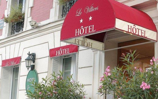 Hotel Le Villiers вид на фасад