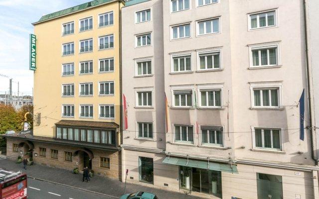 Отель IMLAUER & Bräu Австрия, Зальцбург - 1 отзыв об отеле, цены и фото номеров - забронировать отель IMLAUER & Bräu онлайн вид на фасад