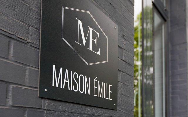Boutique Hotel Maison Emile Антверпен вид на фасад
