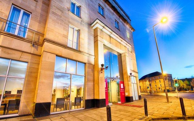 Отель Leonardo Royal Edinburgh Haymarket Великобритания, Эдинбург - отзывы, цены и фото номеров - забронировать отель Leonardo Royal Edinburgh Haymarket онлайн вид на фасад