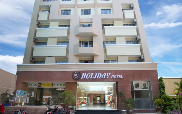 Golden Holiday Hotel вид на фасад