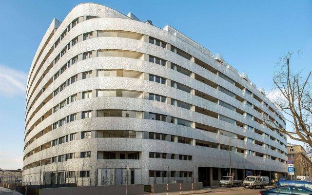 Отель Oxygen Central Apartments Польша, Варшава - отзывы, цены и фото номеров - забронировать отель Oxygen Central Apartments онлайн вид на фасад