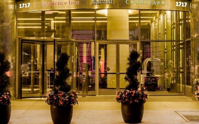 Отель Courtyard by Marriott New York Manhattan/Central Park США, Нью-Йорк - отзывы, цены и фото номеров - забронировать отель Courtyard by Marriott New York Manhattan/Central Park онлайн вид на фасад