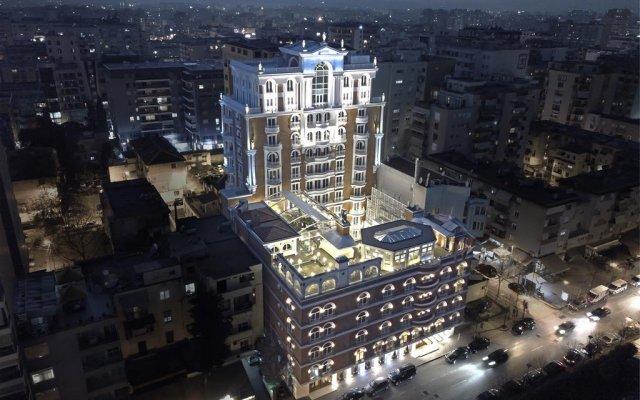 Отель Xheko Imperial Hotel Албания, Тирана - отзывы, цены и фото номеров - забронировать отель Xheko Imperial Hotel онлайн вид на фасад