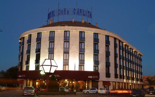 Отель Doña Carlota Испания, Сьюдад-Реаль - отзывы, цены и фото номеров - забронировать отель Doña Carlota онлайн вид на фасад