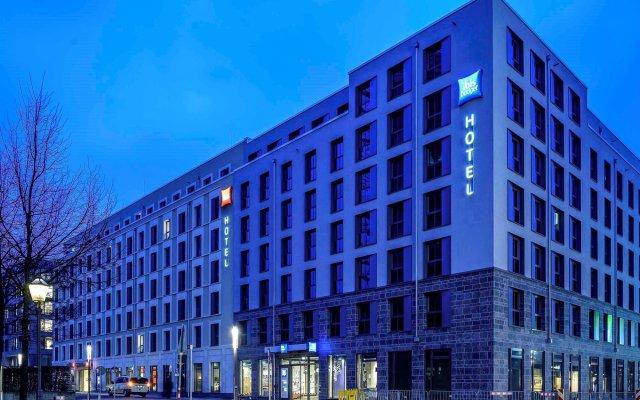 Отель Ibis budget Leipzig City вид на фасад