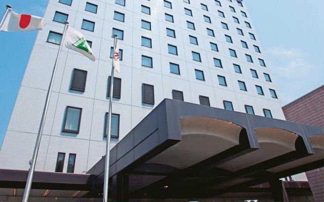 Отель Toyama Daiichi Hotel Япония, Тояма - отзывы, цены и фото номеров - забронировать отель Toyama Daiichi Hotel онлайн вид на фасад