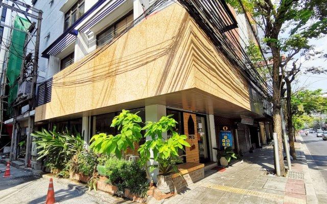 Foresttel Bkk - Hostel Бангкок вид на фасад