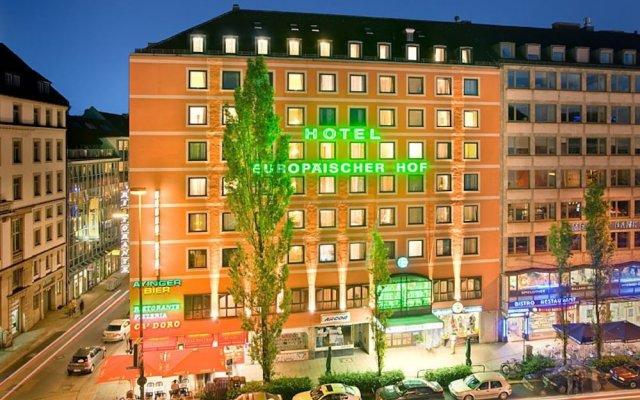 Отель Europäischer Hof вид на фасад
