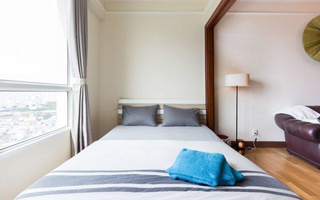Отель The Manor Luxury 1BR Apartment Center Вьетнам, Хошимин - отзывы, цены и фото номеров - забронировать отель The Manor Luxury 1BR Apartment Center онлайн комната для гостей