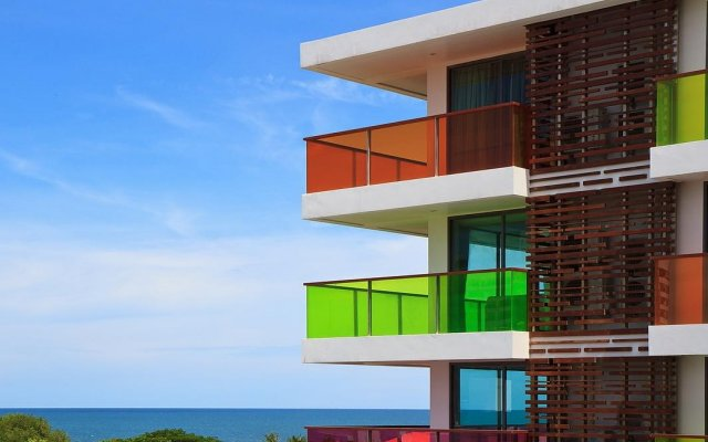 Отель Rocco Huahin Condominium вид на фасад