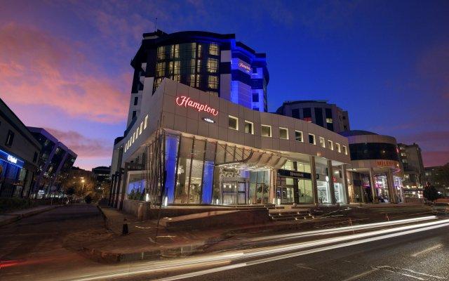Hampton by Hilton Gaziantep Турция, Газиантеп - отзывы, цены и фото номеров - забронировать отель Hampton by Hilton Gaziantep онлайн вид на фасад