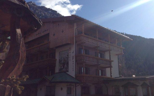 Hotel El Paster Долина Валь-ди-Фасса вид на фасад