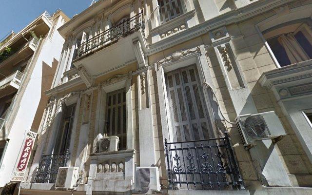 Zorbas Hotel Афины вид на фасад