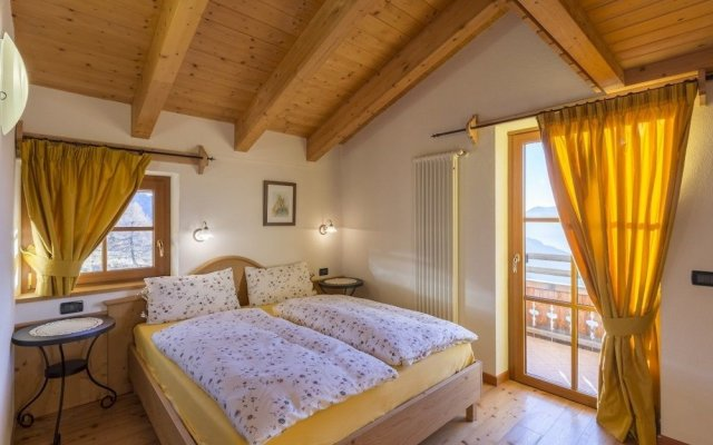 Отель Rifugio Baita Cuz Долина Валь-ди-Фасса комната для гостей