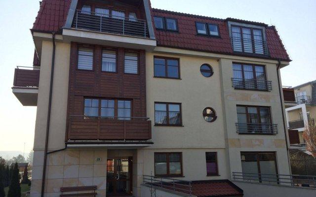 Апартаменты Apartments Sopot вид на фасад