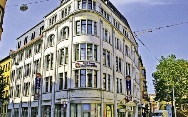 Best Western City Hotel Braunschweig вид на фасад