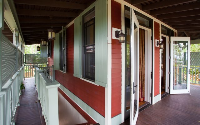Отель Hermosa Cove Villa Resort & Suites вид на фасад