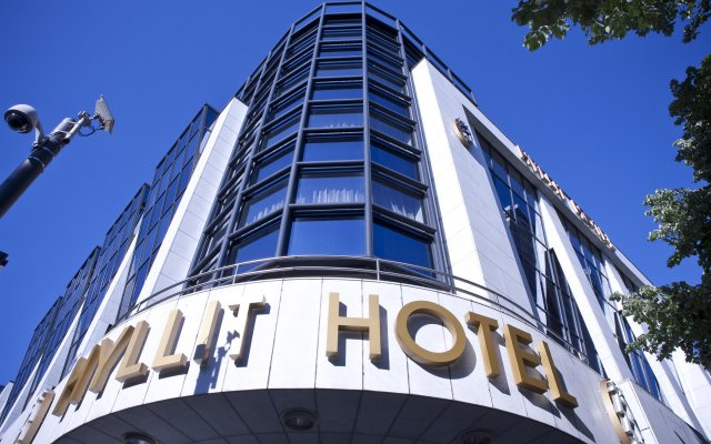 Hyllit Hotel вид на фасад