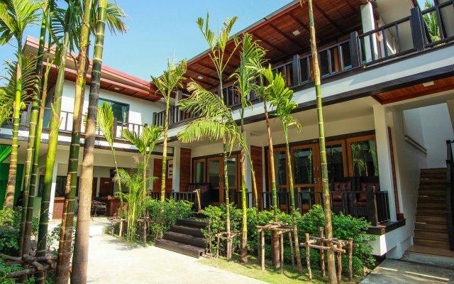 Отель Cabana Lipe Beach Resort вид на фасад