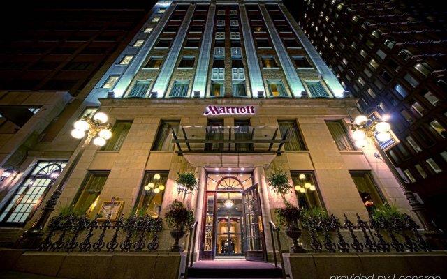 Отель Quebec City Marriott Downtown Канада, Квебек - отзывы, цены и фото номеров - забронировать отель Quebec City Marriott Downtown онлайн вид на фасад